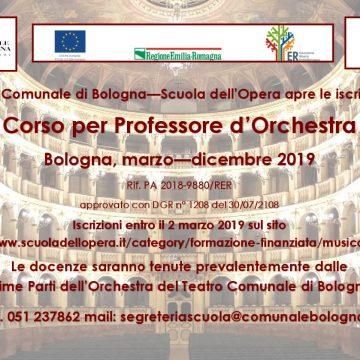 Brani per selezioni Corso Professore d'Orchestra – Sezione Archi