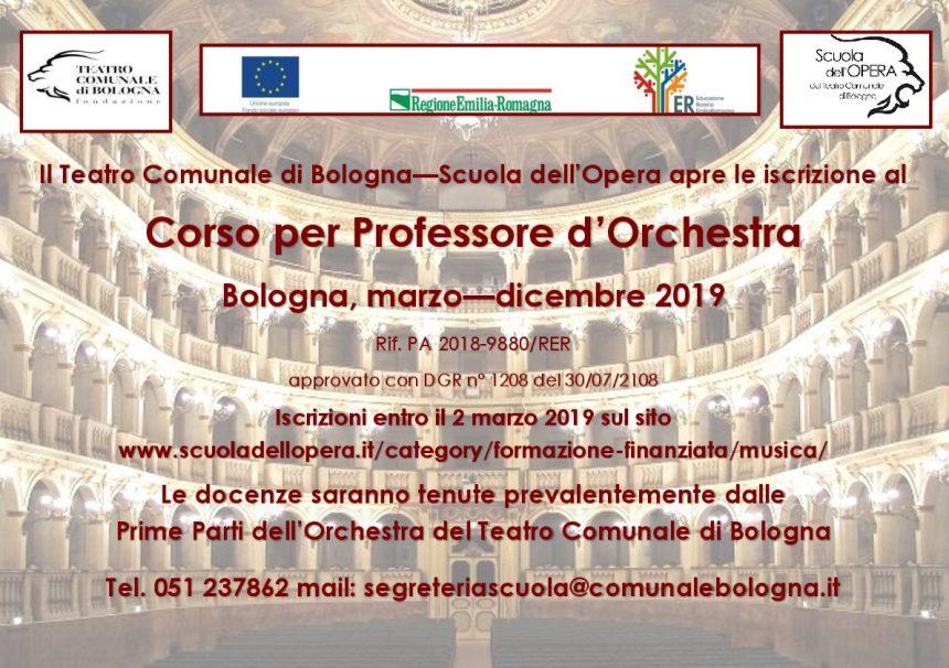 Brani per selezioni Corso Professore d'Orchestra – Sezione Fiati e Percussioni